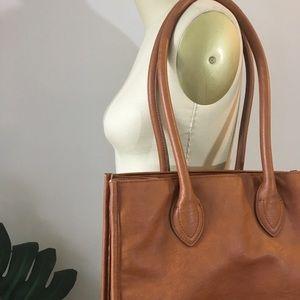 J.Crew • Everyday Vegan Leather Shoulder Bag